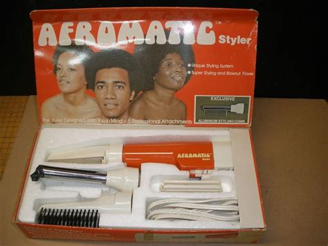 Vintage Hair Dryer Ebay vintage afromatic styler afro hair dryer comb ebay quot discontinued quot