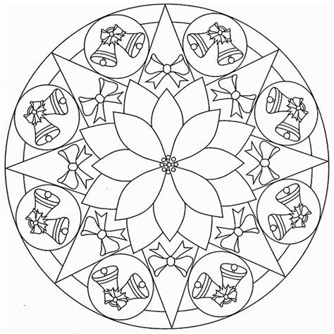 Christmas Mandala Coloring Pages Coloring Home Mandala Coloring Pages For Boys Printable