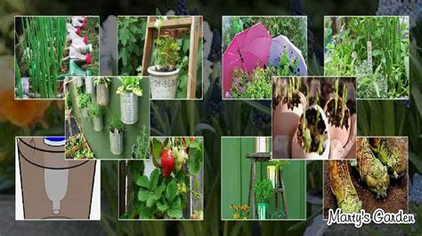 garden decoration recycled recycled container gardening ideas