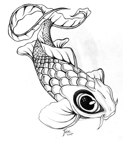 free koi carp tattoo designs free how to draw koi carp coloring pages