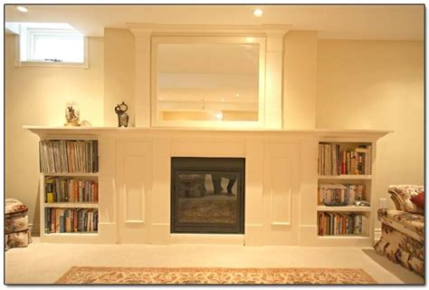 gas fireplace with built in cabinets built in cabinets gas fireplace basement ideas