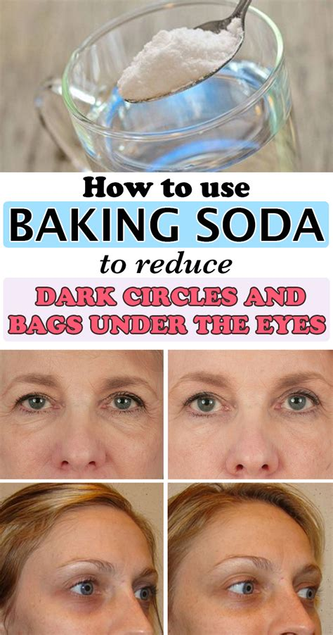 How To Use Baking Soda In Detox by How To Use Baking Soda To Reduce Circles And Bags