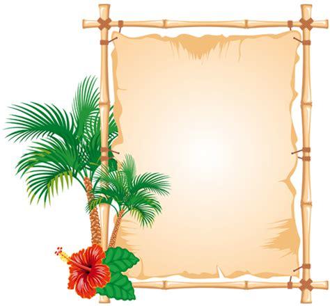 design frame images set of different of bamboo frame design vector 02 vector