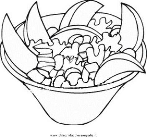 immagini alimenti disegno macedonia 2 alimenti da colorare