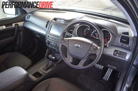 kia steering 2013 kia sorento platinum review performancedrive