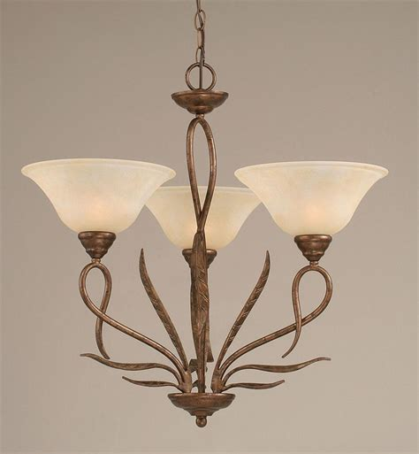 Glass Light Shades For Chandeliers Buy Mini Chandelier W 10 In Marble Glass Shades