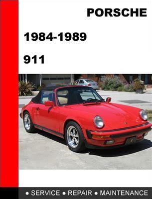 chilton car manuals free download 1987 porsche 911 spare parts catalogs porsche 911 1984 1989 factory service repair manual download manu