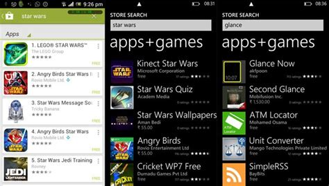 Where Is Play Store In Windows Phone Windows Phone Store And Why I Find The Play Store