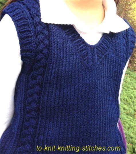 knitting pattern for boys vest boy and vest knitting pattern a lovely unisex cable