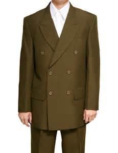 New mens db olive green dress suit nwt 58l 58 long l ebay