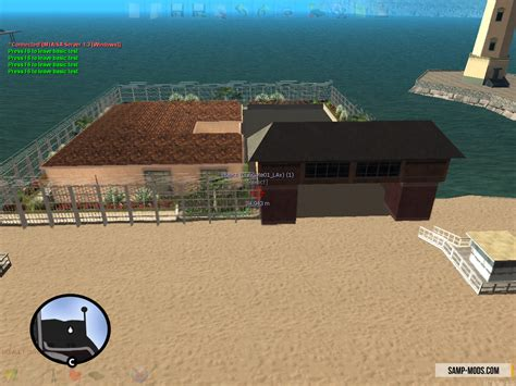 beach cottage ls vip beach house дом на пляже ls для sa mp