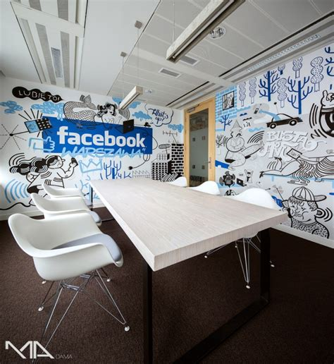 facebook office design facebook office by madama warsaw poland 187 retail design