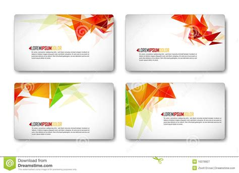 modern cards modern business card set stock vector image of concept