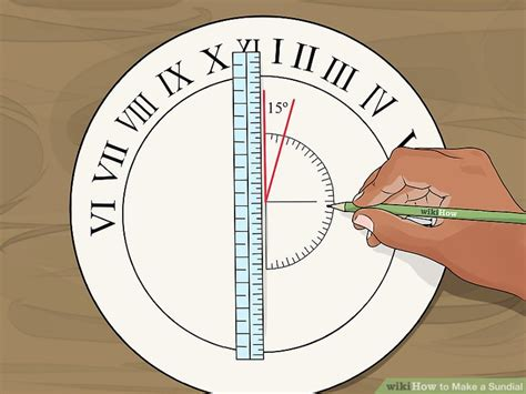 How To Make A Paper Sundial - 3 ways to make a sundial wikihow