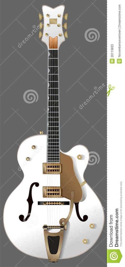 imagenes guitarras blancas guitarra blanca fotos de archivo imagen 20113833