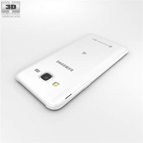 Samsung J5 White samsung galaxy j5 white 3d model hum3d