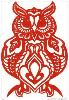 new year paper cutting patterns birds drawings and on