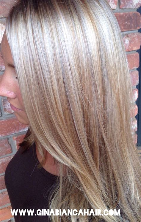 platinum blonde hair with brown highlights platinum blonde highlights on pinterest platinum