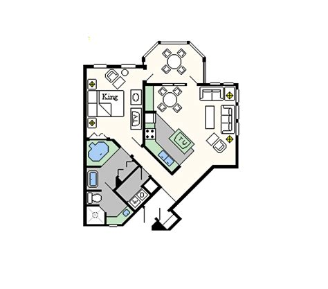old key west 1 bedroom villa floor plan old key west mouseketrips