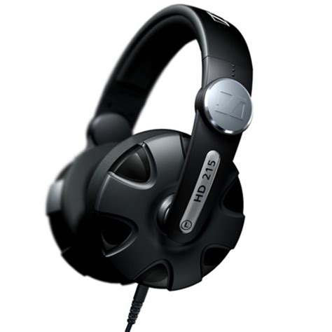 Headset Sennheiser Hd 215 disc sennheiser hd 215 closed dj headphones at gear4music
