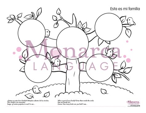 spanish family coloring page free spanish coloring pages activities