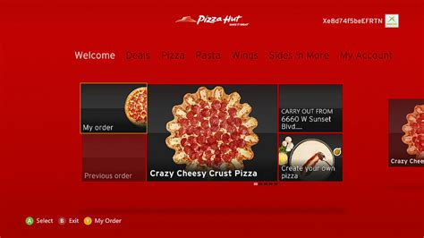 Pizza Hut Xbox One S Giveaway - xbox live serves up pizza hut delivery app