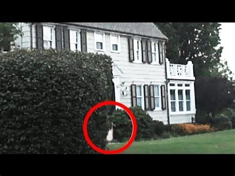 ghost filmed at real amityville haunted house on