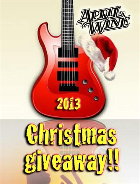 Itunes Christmas Giveaway - christmas giveaway 2013 april wine official website