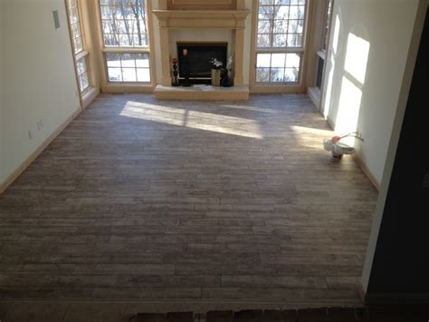 Living Room Wood Tile Porcelain Wood Plank Tile 6 Quot X 36 Quot Contemporary Living