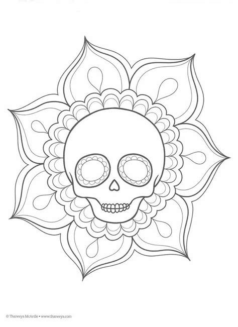 imagenes infantiles para colorear del dia de muertos dibujos para colorear d 236 a de muertos