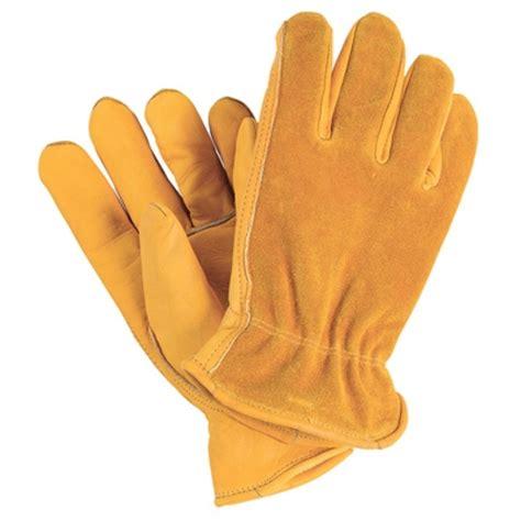 Cowhide Leather Work Gloves - grain cowhide leather work gloves mrt lawn garden