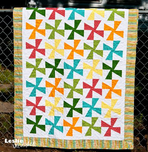 Quilt Pattern Pinwheel by Pinwheel Quilt Tutorial Leslie Unfinished