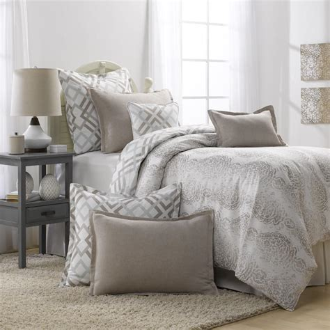 grey and taupe bedding set duvet from american made dorm