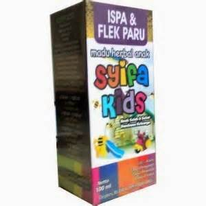Madu Anak Obat Herbal Ispa Infeksi Saluran Pernafasan Flek Paru Paru madu syifa ispa flek paru kios herbal tradisional