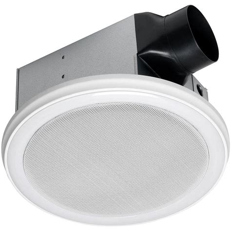bathroom fans with lights home netwerks decorative white 100 cfm bluetooth stereo