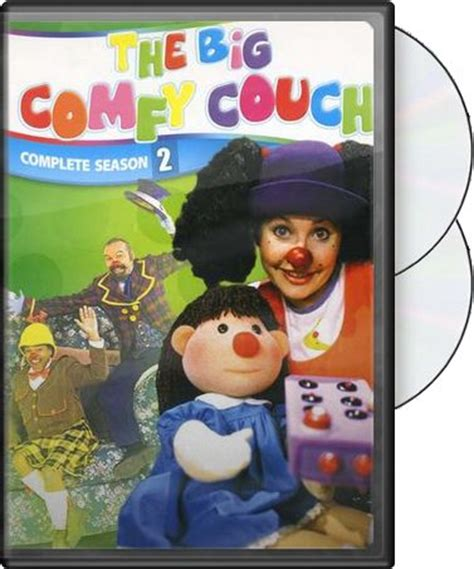 Big Comfy Dvd by The Big Comfy Complete Season 2 2 Dvd 1994
