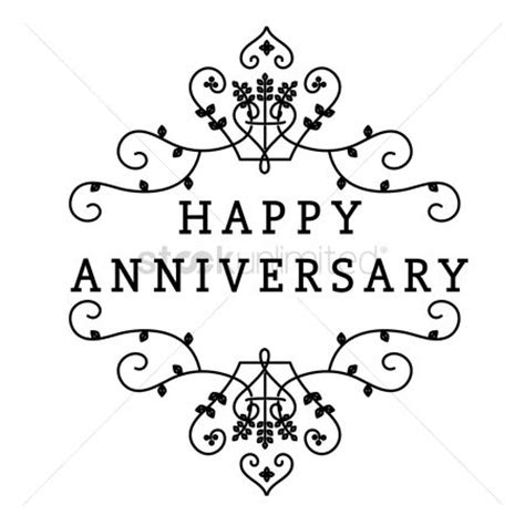 Wedding Anniversary Wishes One Line by Free Anniversary Stock Vectors Stockunlimited