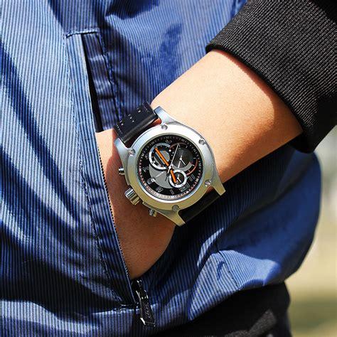 Jam Sinobi sinobi jam tangan analog pria 9648 black
