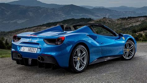 ferrari 488 convertible ferrari 488 spider 2016 review carsguide