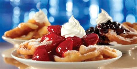 ihop funnel cake ihop announces return of fruit topped funnel cakes