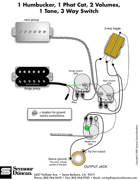 2 humbucker wiring diagrams 1 volume 1tone wiring