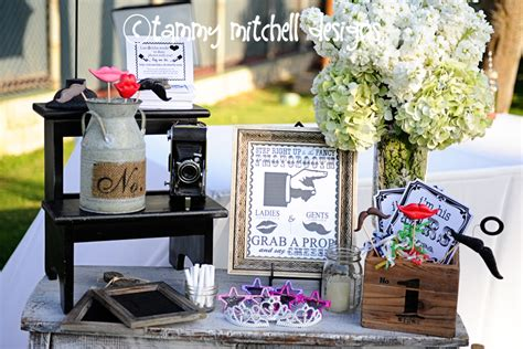 design wedding booth tammy mitchell designs wedding event custom photo booth