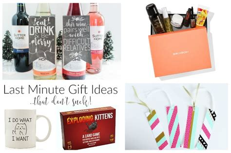 last minute gift ideas last minute gift ideas that don t domestically