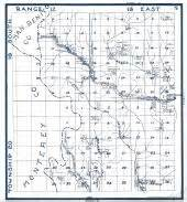 california township and range map historic map works residential genealogy
