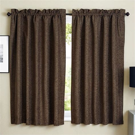 63 curtain panels blazing needles 63 inch jacquard chenille curtain panels