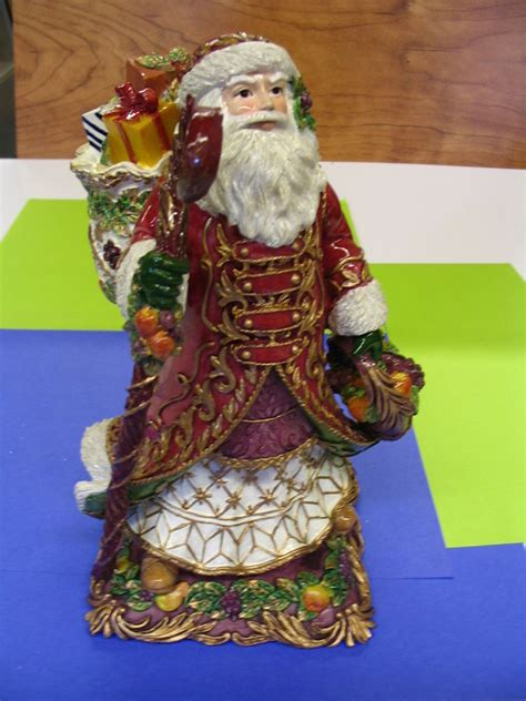 1 Gift Card Buyer New Halls Ferry - fitz and floyd ceramic music box traditional santa play deck the halls new ebay