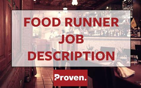 the food runner description