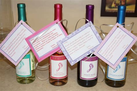 Thank You Gift For Baby Shower Hostess by Baby Shower Hostess Gift Barefoot Wine With A