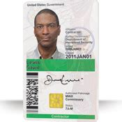 government identity card template government employee id id cards datacard