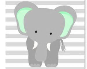 items similar to elephant nursery art gray elephant print navy nursery gray and navy elephant